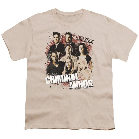 Criminal Minds Solution Lies Within Short Sleeve Youth T-Shirt