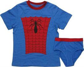 Spiderman Costume Youth Pajama Set