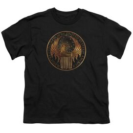Fantastic Beasts Magical Congress Crest Short Sleeve Youth T-Shirt