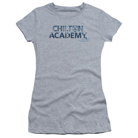 Gilmore Girls Chilton Academy Hbo Short Sleeve Junior Sheer Athletic T-Shirt