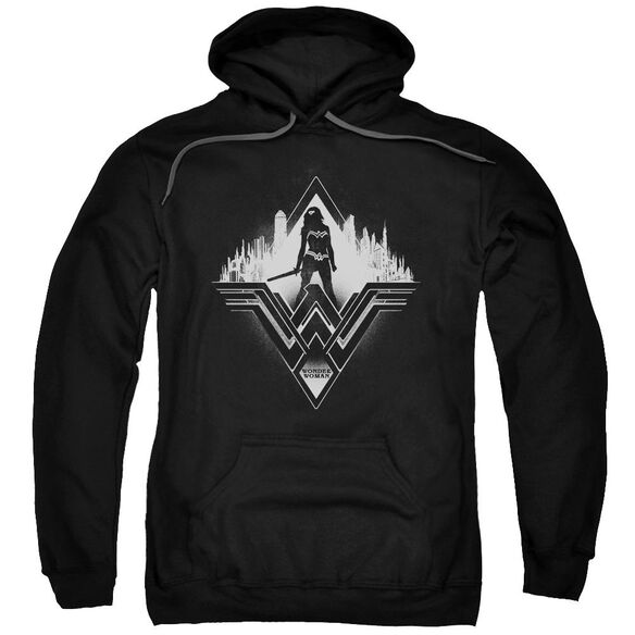Batman V Superman City Warrior Adult Pull Over Hoodie