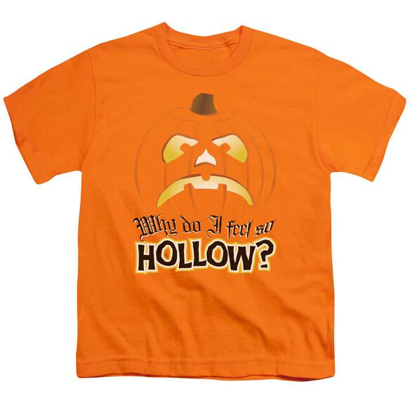 Hollow Short Sleeve Youth T-Shirt