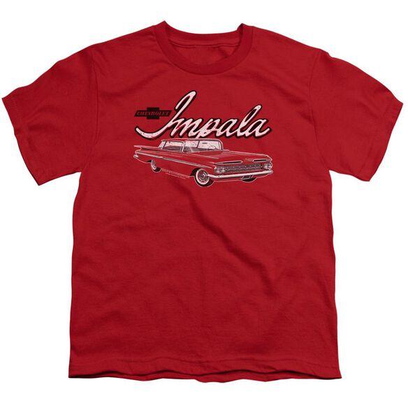 Chevrolet Classic Impala Short Sleeve Youth T-Shirt
