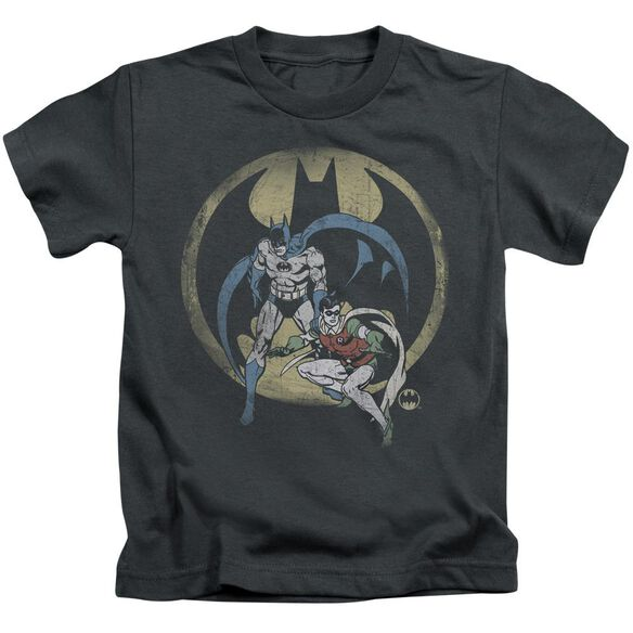 Dc Team Short Sleeve Juvenile Charcoal T-Shirt