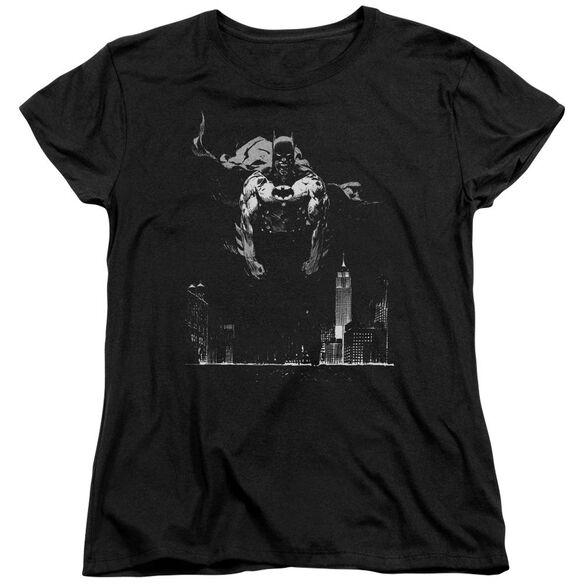 Batman Dirty City Short Sleeve Womens Tee T-Shirt