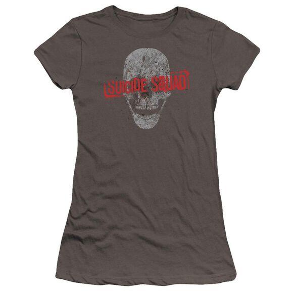 Suicide Squad Skull Premium Bella Junior Sheer Jersey