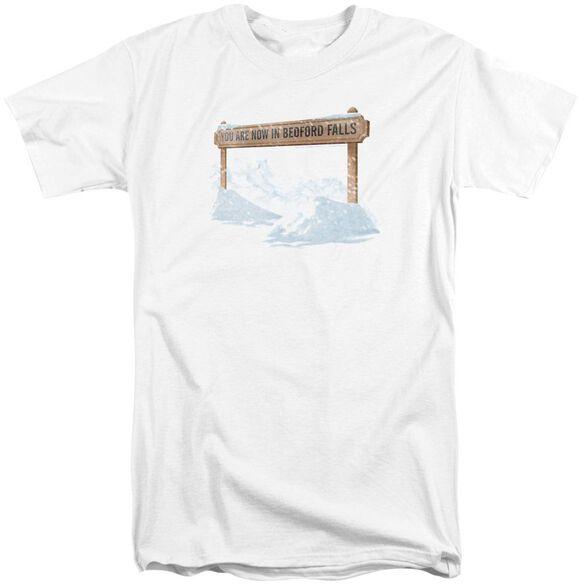 Its A Wonderful Life Bedford Falls Short Sleeve Adult Tall T-Shirt