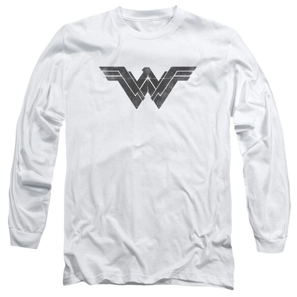 Batman V Superman Folded And Distressed Long Sleeve Adult T-Shirt