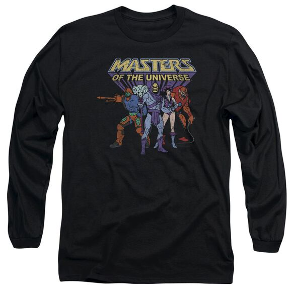 Masters Of The Universe Team Of Villains Long Sleeve Adult T-Shirt
