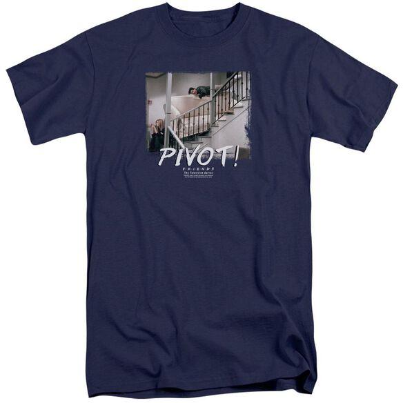 Friends Pivot Short Sleeve Adult Tall T-Shirt