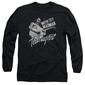 Ted Nugent Madman Long Sleeve Adult T-Shirt