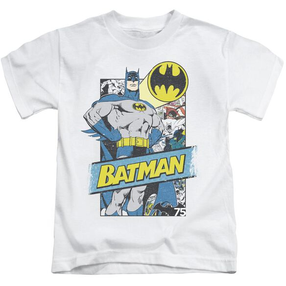 Batman Out Of The Pages Short Sleeve Juvenile T-Shirt