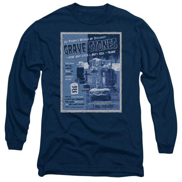 Ed Pitaphs Long Sleeve Adult T-Shirt