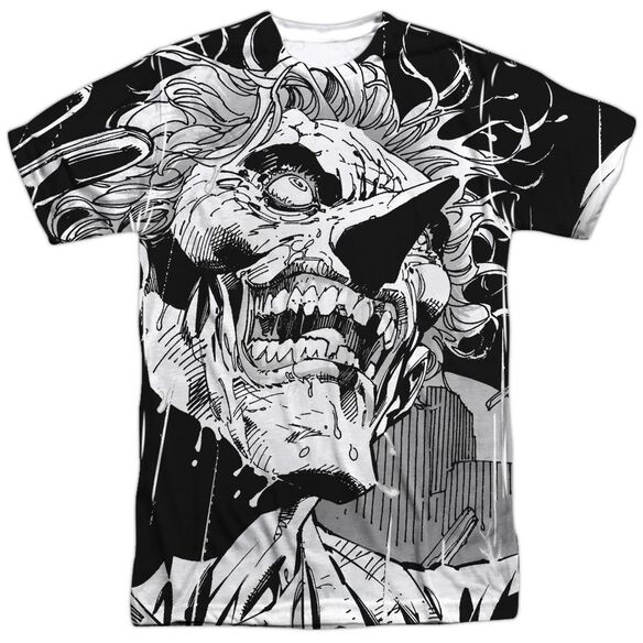 Batman Joker Short Sleeve Adult Poly Crew T-Shirt