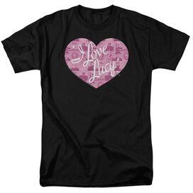 I Love Lucy Many Moods Logo Short Sleeve Adult T-Shirt