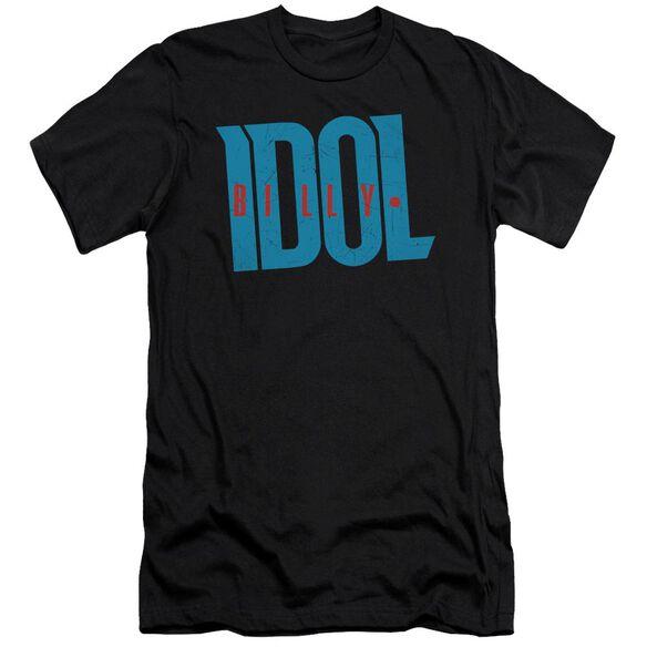 Billy Idol Logo Short Sleeve Adult T-Shirt