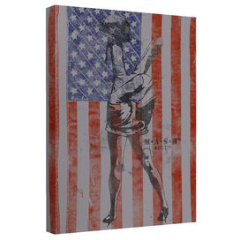 Mash Peace Canvas Wall Art With Back Board
