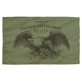 Army Property Face Hand Towel