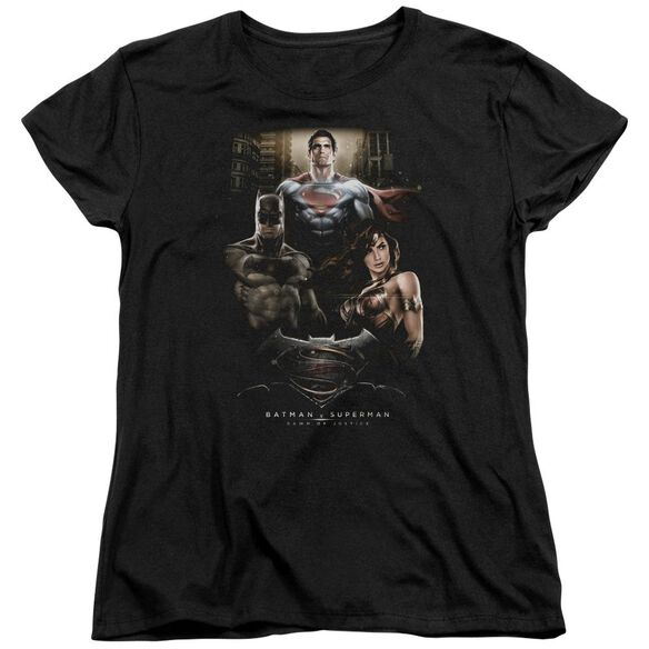 Batman V Superman Thre Three Short Sleeve Womens Tee T-Shirt