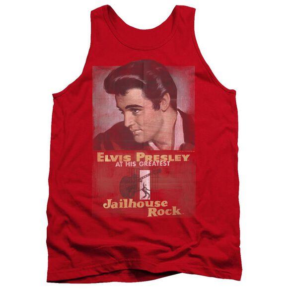 Elvis Jailhouse Rock Poster Adult Tank