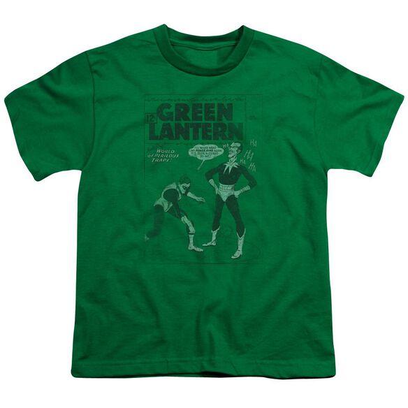 Lantern Perilous Traps Short Sleeve Youth Kelly T-Shirt