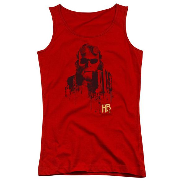 Hellboy Ii Splatter Gun Juniors Tank Top