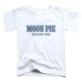 Moon Pie Mo Pie Short Sleeve Toddler Tee White T-Shirt