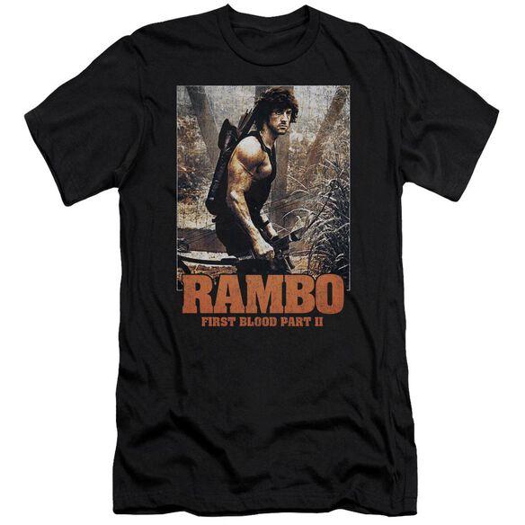 Rambo:First Blood Ii The Hunt Short Sleeve Adult T-Shirt