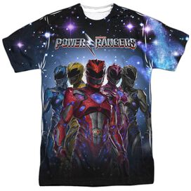 Power Rangers Power Surge Short Sleeve Adult Poly Crew T-Shirt