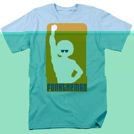 FUNK THE MAN - ADULT 18/1 - LIGHT BLUE T-Shirt