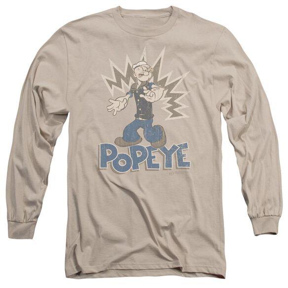 POPEYE SAILOR MAN - L/S ADULT 18/1 - SAND T-Shirt