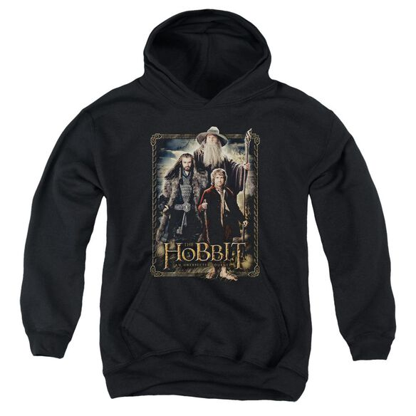 The Hobbit The Three Youth Pull Over Hoodie