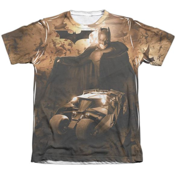 Batman Begins Batsmobile Adult Poly Cotton Short Sleeve Tee T-Shirt