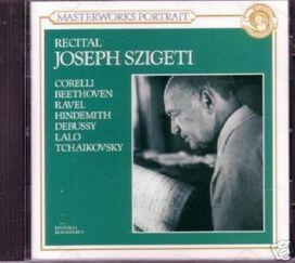 Corelli/ Hindemip/ Szigeti - Recital / Joseph Szigeti