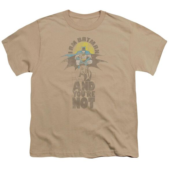 Dc And You're Not Short Sleeve Youth T-Shirt