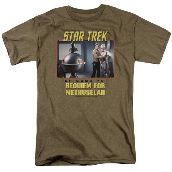 St Original Requiem For Methuselah Short Sleeve Adult Safari Green T-Shirt