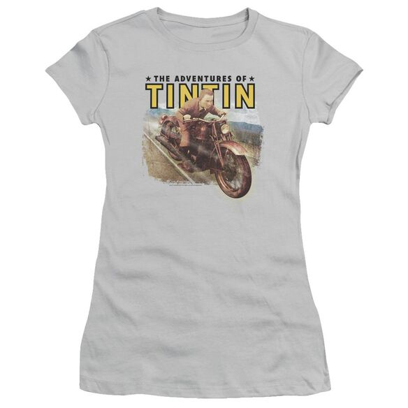 Tintin Open Road Short Sleeve Junior Sheer T-Shirt