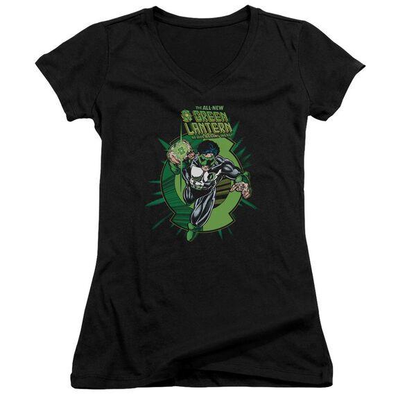 Green Lantern Rayner Cover Junior V Neck T-Shirt