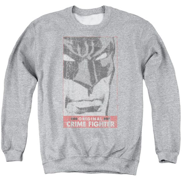 Batman Orginal Crime Fighter Adult Crewneck Sweatshirt Athletic