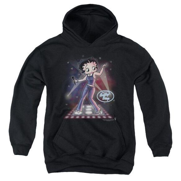 Betty Boop Pop Star Youth Pull Over Hoodie