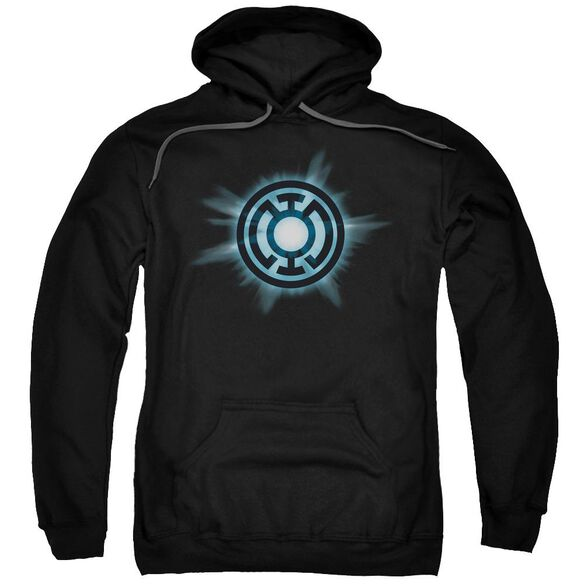 Green Lantern Blue Glow Adult Pull Over Hoodie