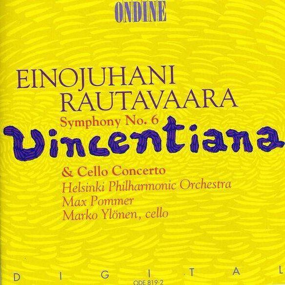 """Marko Yl Nen - Symphony 6 """"Vincentiana"""" / Cello Concerto"""