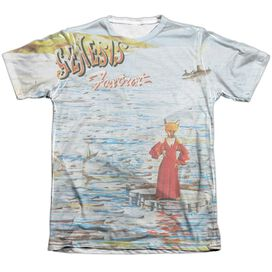 Genesis Foxtrot Cover Adult Poly Cotton Short Sleeve Tee T-Shirt