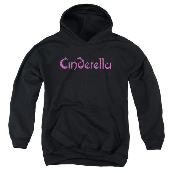 Cinderella Logo Rough Youth Pull Over Hoodie
