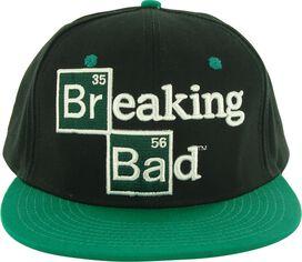 Breaking Bad Logo Black Green Hat