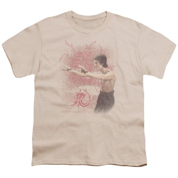 Bruce Lee Power Of The Dragon Short Sleeve Youth T-Shirt