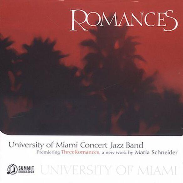 University of Miami Concert Jazz Band - Romances