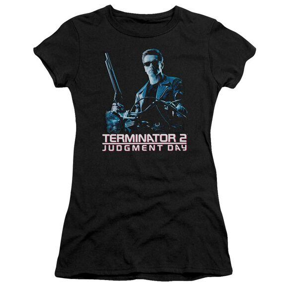 Terminator 2 Poster Premium Bella Junior Sheer Jersey