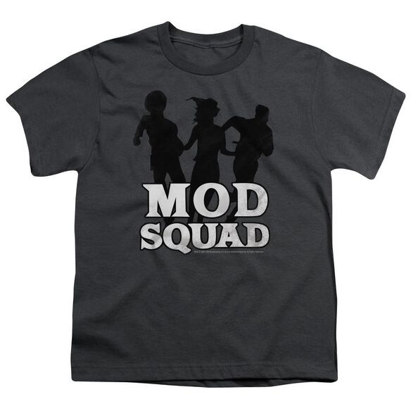 MOD SQUAD MOD SQUAD RUN SIMPLE - S/S YOUTH 18/1 - CHARCOAL T-Shirt