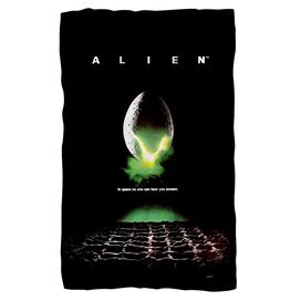 Alien Poster Fleece Blanket